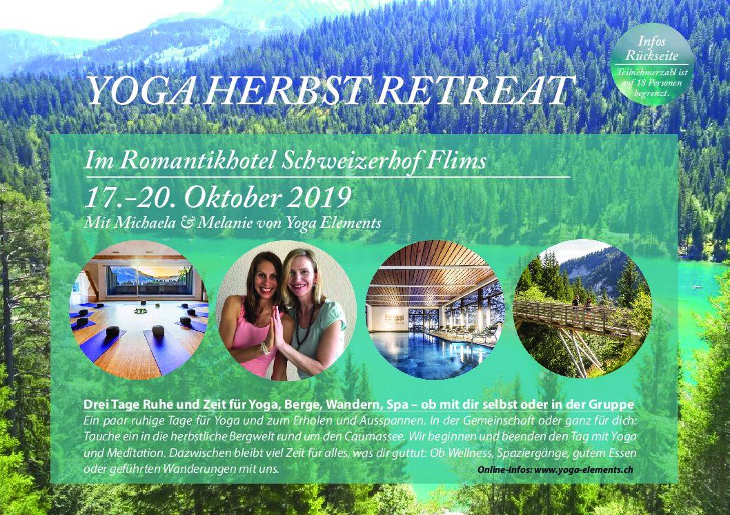Yoga Herbst Retreat